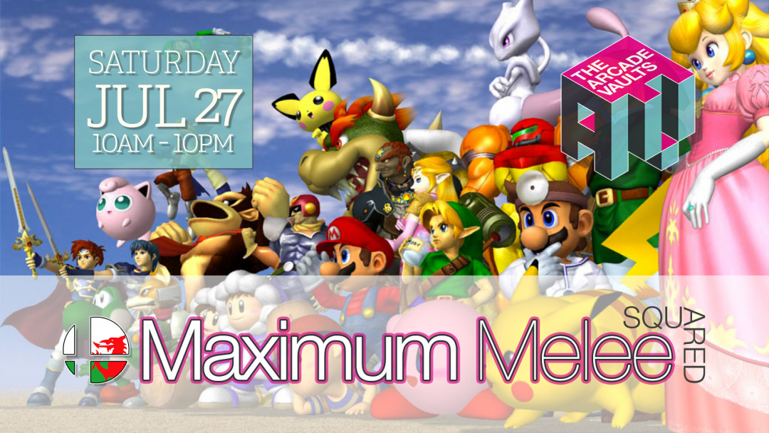 Maximum Melee Squared   The Arcade Vaults